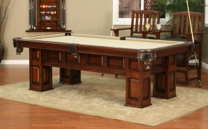 Racine Pool Table Installation image
