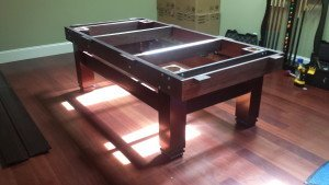 Pool and billiard table set ups and installations in Racine Wisconsin